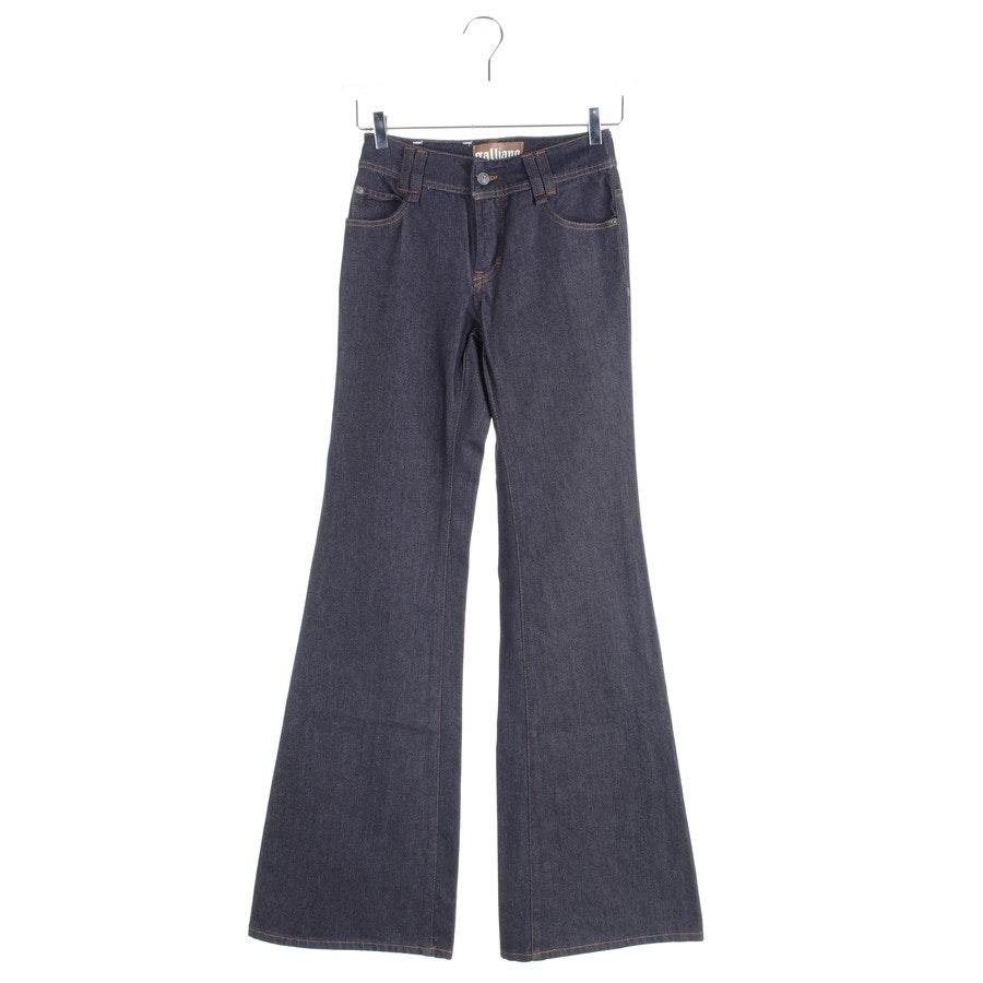 Jeans von John Galliano in Dunkelblau Gr. W26 - Neu