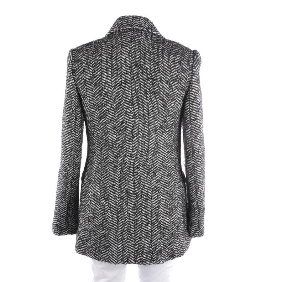 Winterjacke von Dolce & Gabbana in Schwarz und Weiß Gr. 38 IT 44