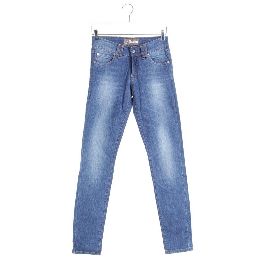 Jeans von John Galliano in Indigo Gr. W26 - Neu