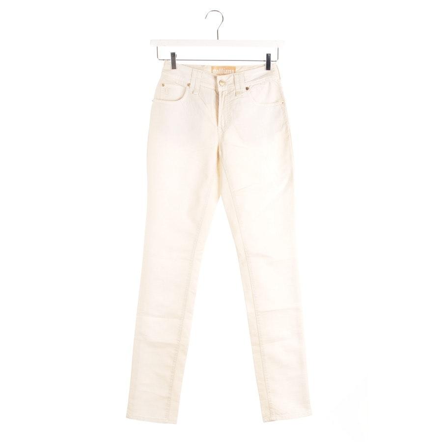 Jeans von John Galliano in Beige Gr. W25 - Neu