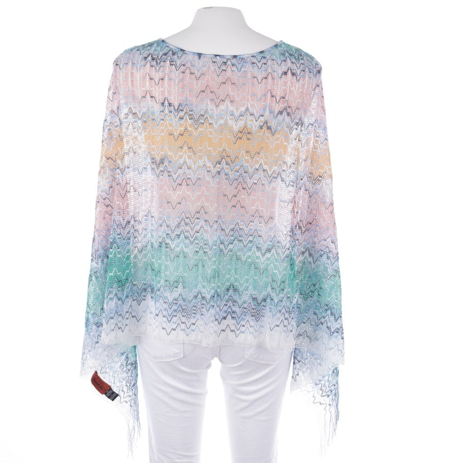 Strickponcho von Missoni in Multicolor Gr. One Size