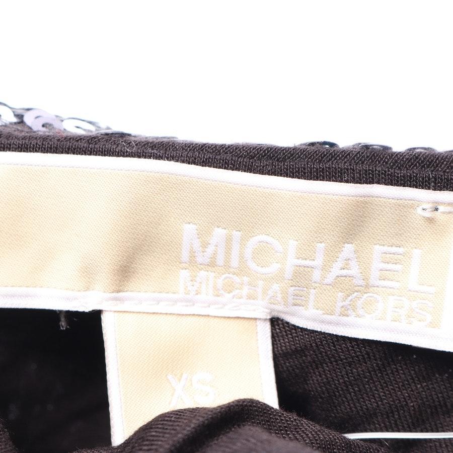 Paillettenkleid von Michael Kors in Schwarz und Weiß Gr. XS