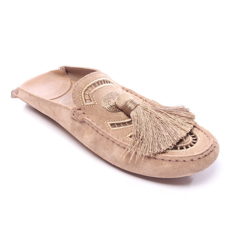 loafers from Tod´s in brown size EUR 40 - gommino