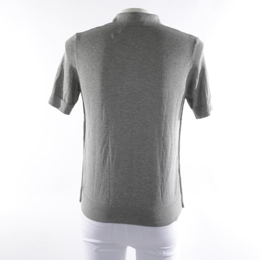 Poloshirt von Falke in Grau meliert Gr. S