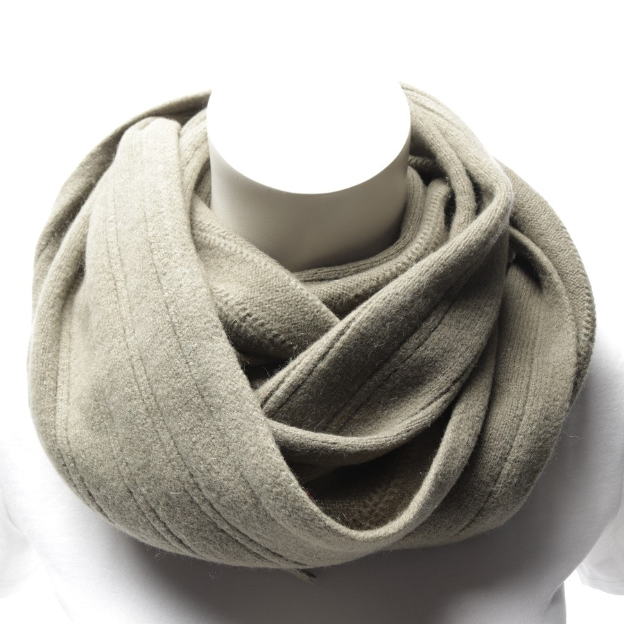 scarf from Longchamp in olive