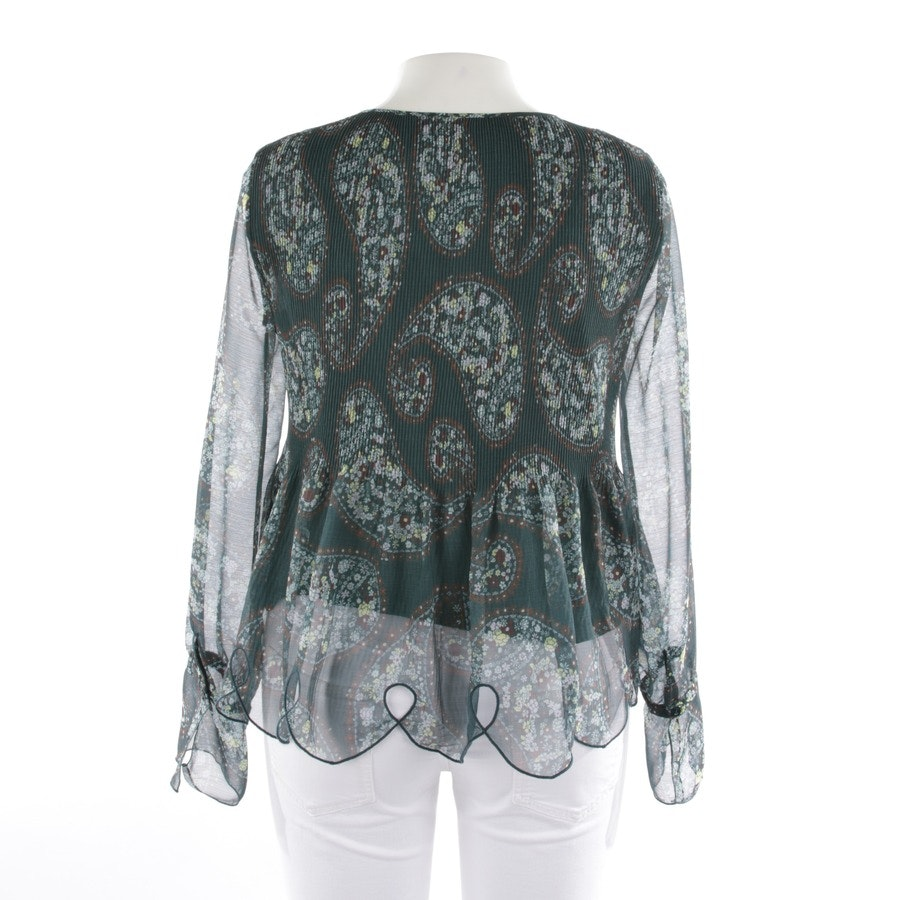 blouses & tunics from See by Chloé in forest green and multicolor size 40 FR 42