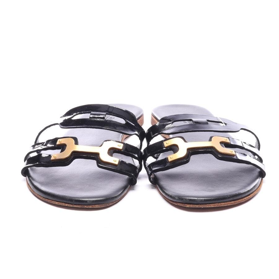 Sandalen von Hermès in Schwarz Gr. EUR 37