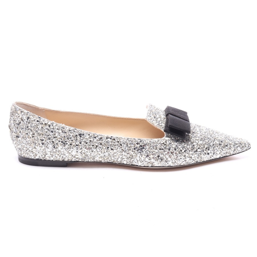 loafers from Jimmy Choo in silver size EUR 40 - gala - new