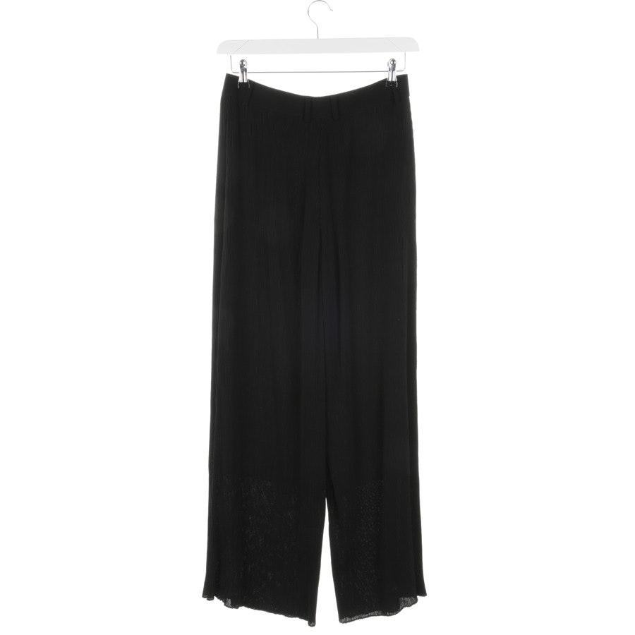 trousers from Alexander McQueen in black size 36 IT 42