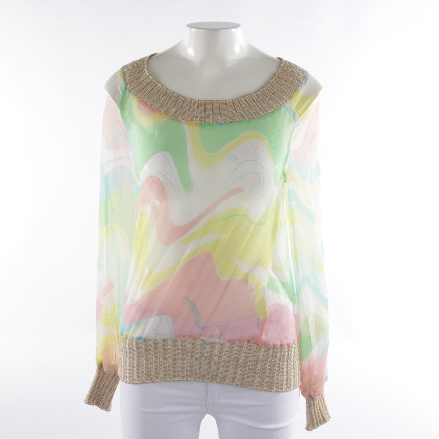 Seidenblusenshirt von Missoni in Multicolor Gr. 32