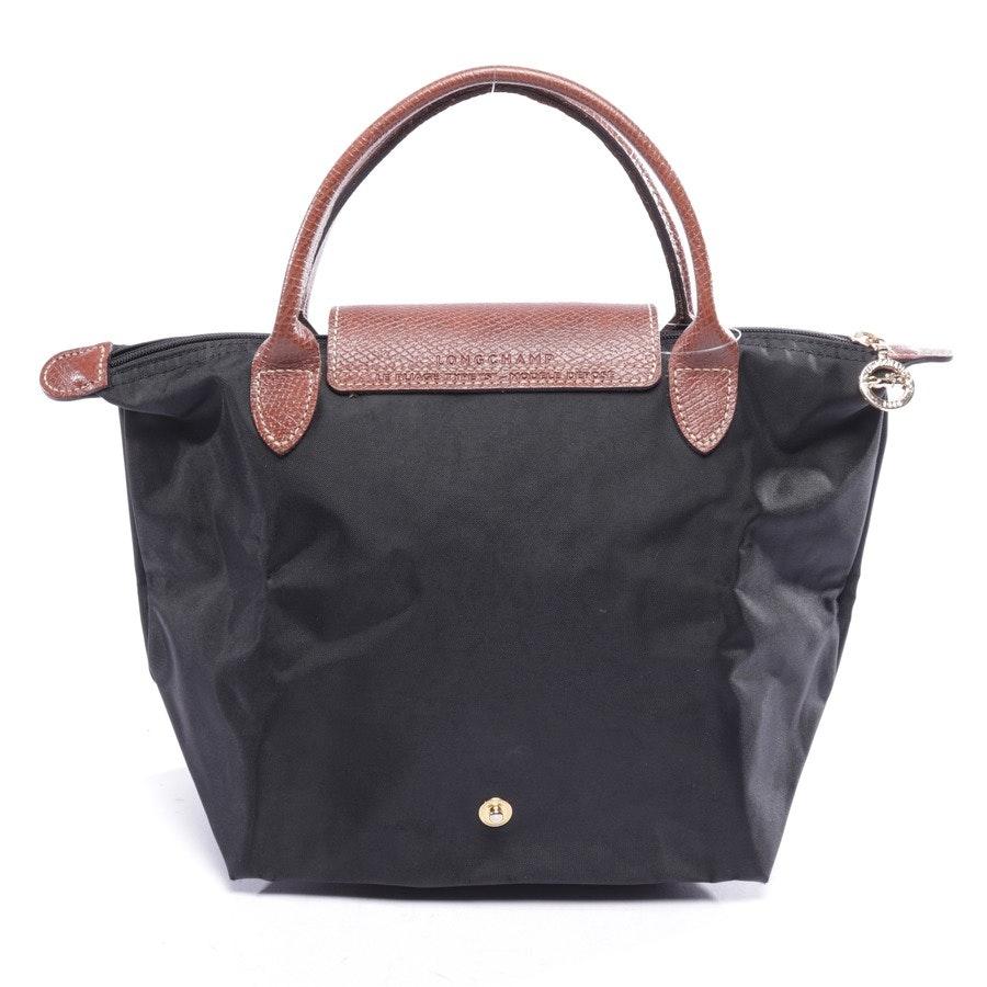 Handtasche von Longchamp in Schwarz und Braun - Le Pliage S