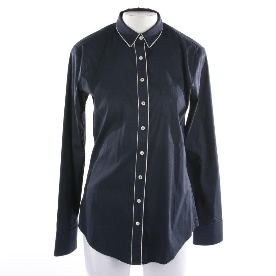Bluse von Closed in Nachtblau und Weiß Gr. 36