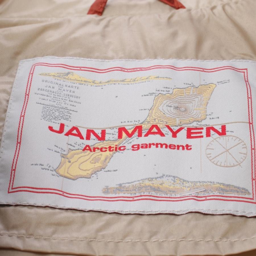 Daunenjacke von Jan Mayen in Orange Gr. 38 IT 44