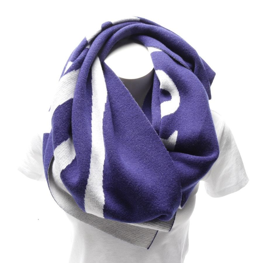 Schal von Balenciaga in Lila und Grau