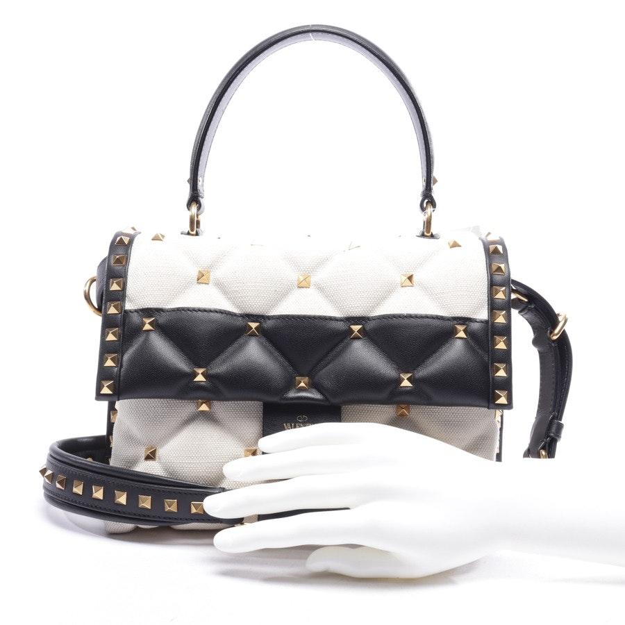 Handtasche von Valentino in Natur und Schwarz - Candystud