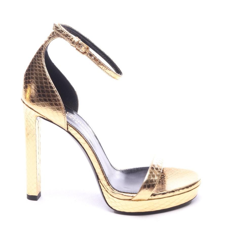 Sandaletten von Saint Laurent in Gold Gr. EUR 36 - Hall - Neu