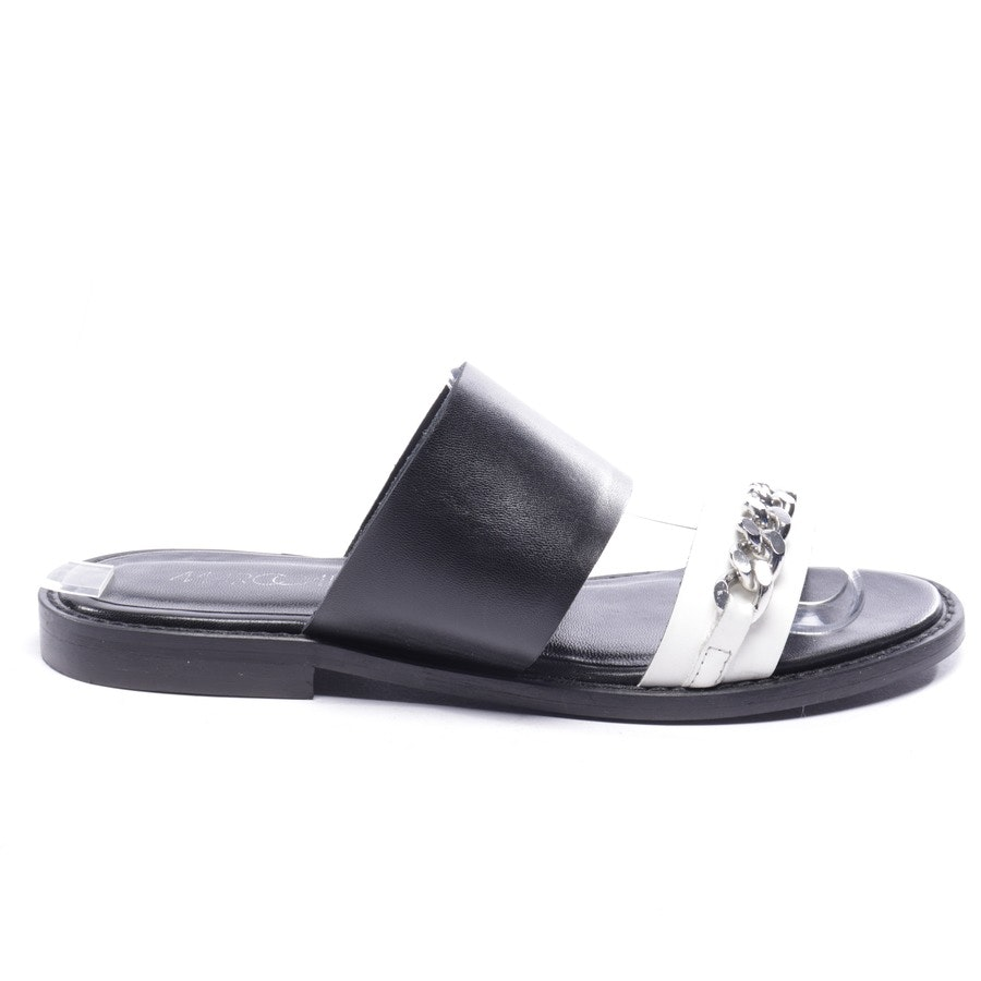 flat sandals from Marc Cain in black and white size EUR 36