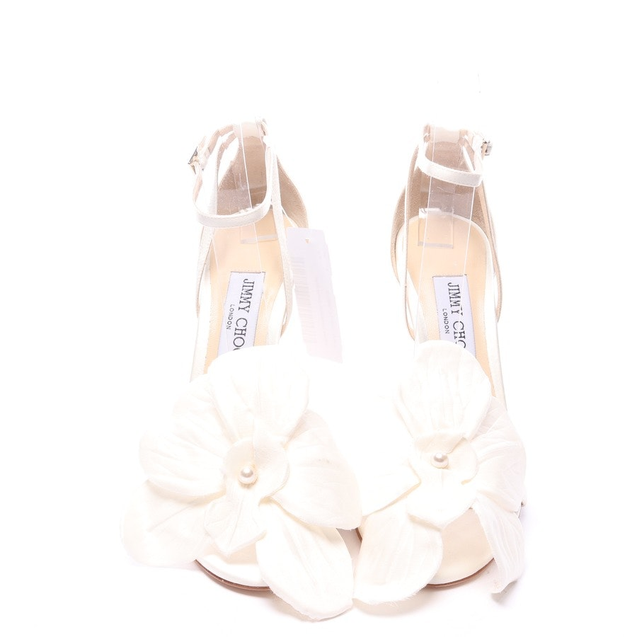 heeled sandals from Jimmy Choo in ivory (ivory) size EUR 38 - new