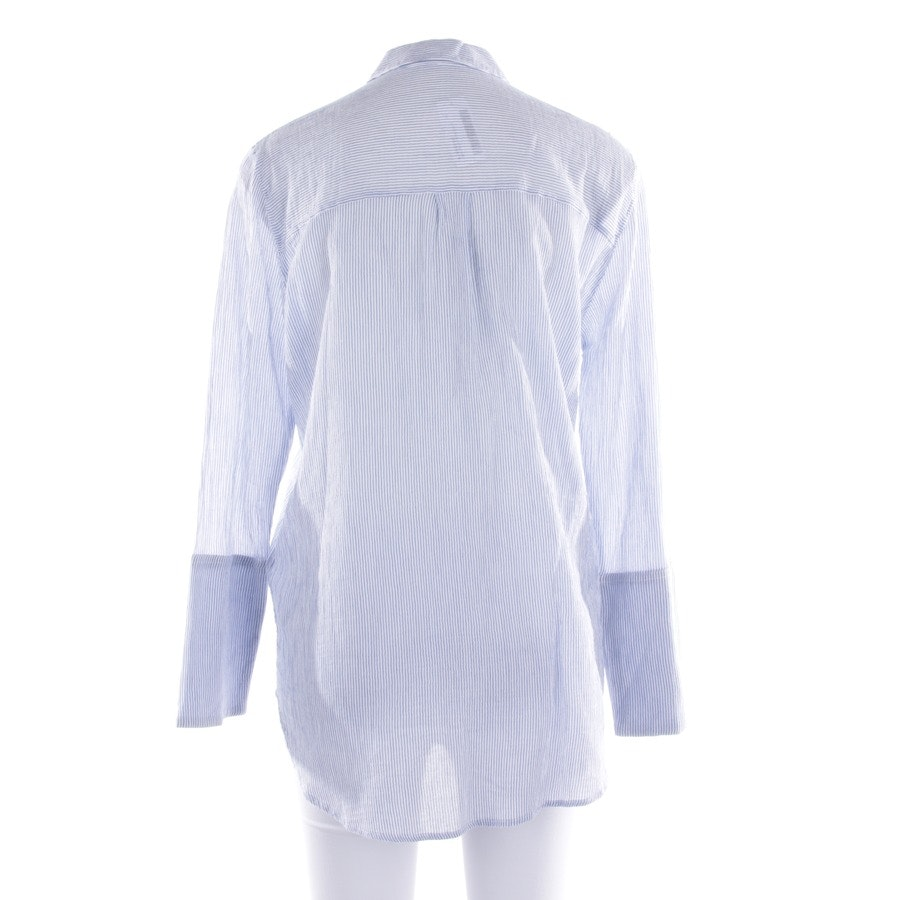 blouses & tunics from Drykorn in white and blue size 38 / 3