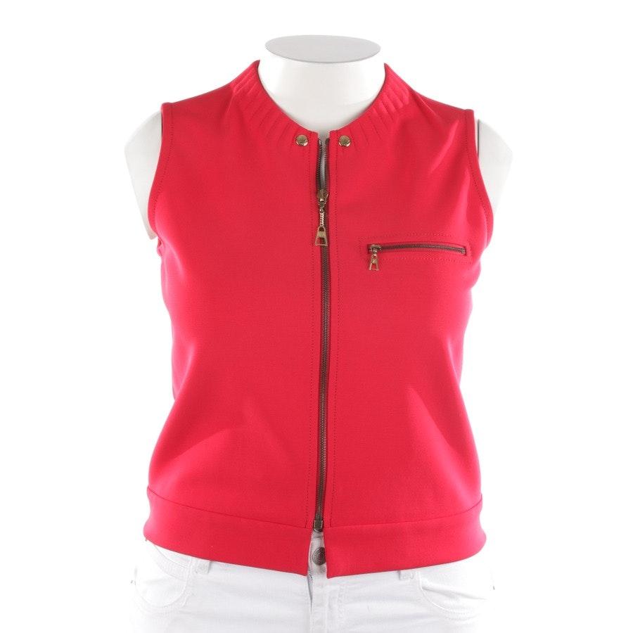 Blusentop von Louis Vuitton in Rot und Weiß Gr. 40 FR 42
