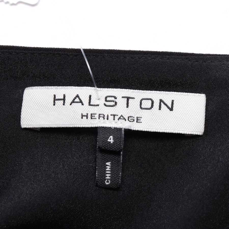 dress from Halston Heritage in black-brown size 34 US 4