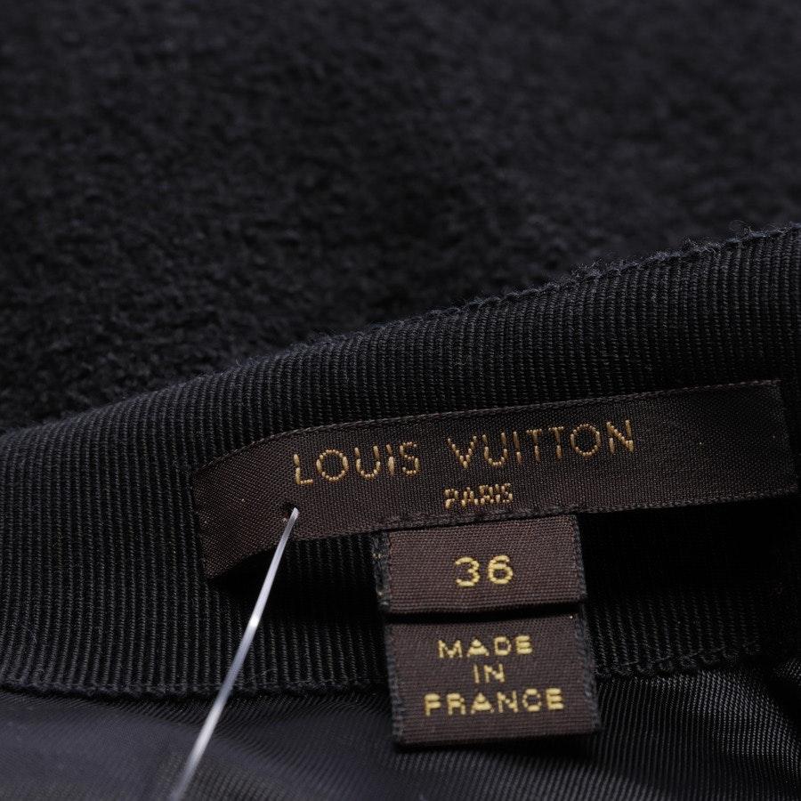 Rock von Louis Vuitton in Schwarz Gr. 34 FR 36