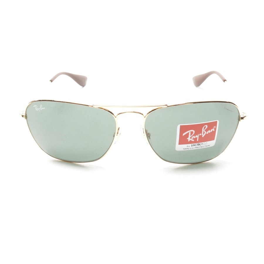 sunglasses from Ray Ban in gold - rb3810 - new