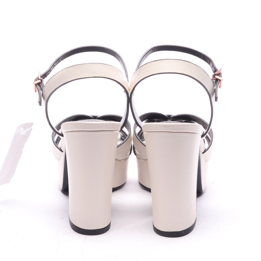heeled sandals from Lola Cruz in cream size EUR 38 - new