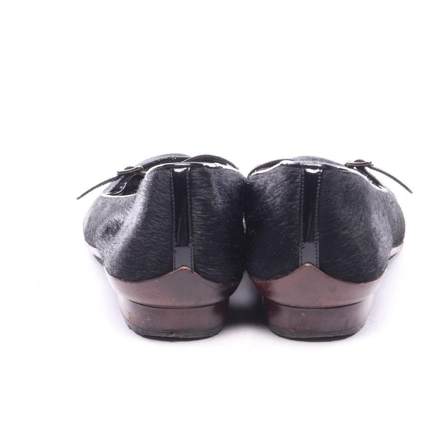 Ballerinas von Salvatore Ferragamo in Schwarz Gr. EUR 39 US 8,5