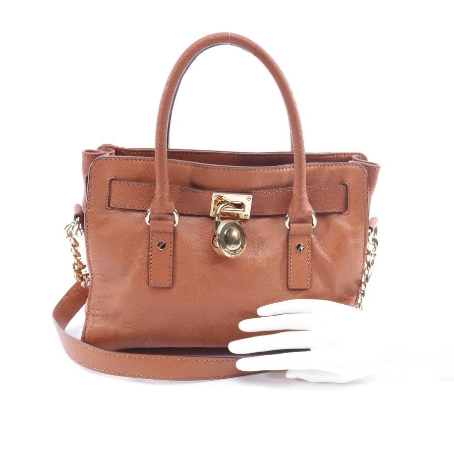 shoulder bag from Michael Kors in cognac - hamilton