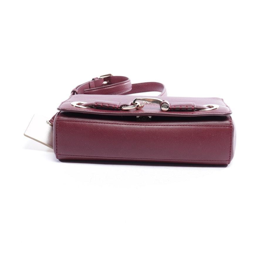 shoulder bag from Aigner in burgundy - new