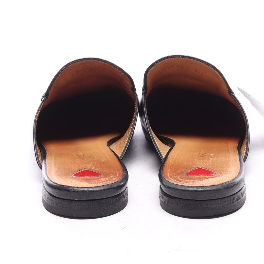 loafers from Gucci in black and pink size EUR 38