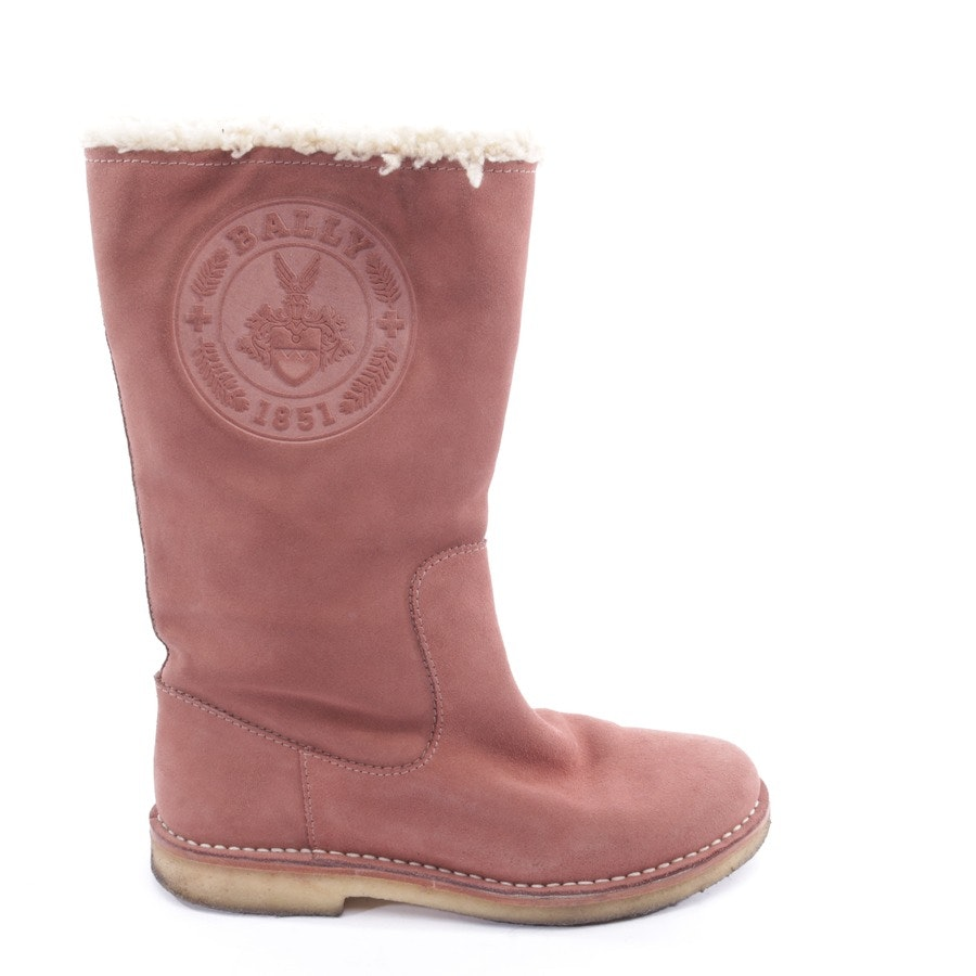 boots from Bally in old pink size EUR 39
