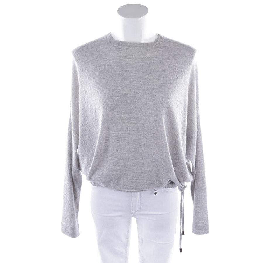 knitwear from Brunello Cucinelli in grey mottled size S