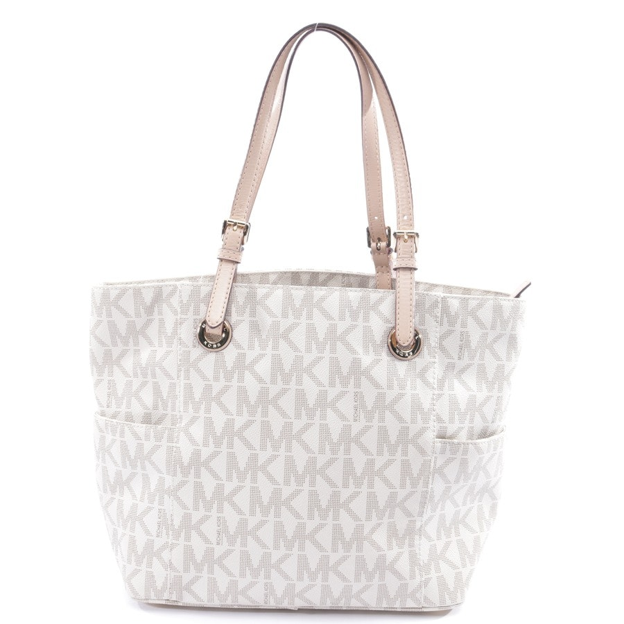 shoulder bag from Michael Kors in cream white and brown