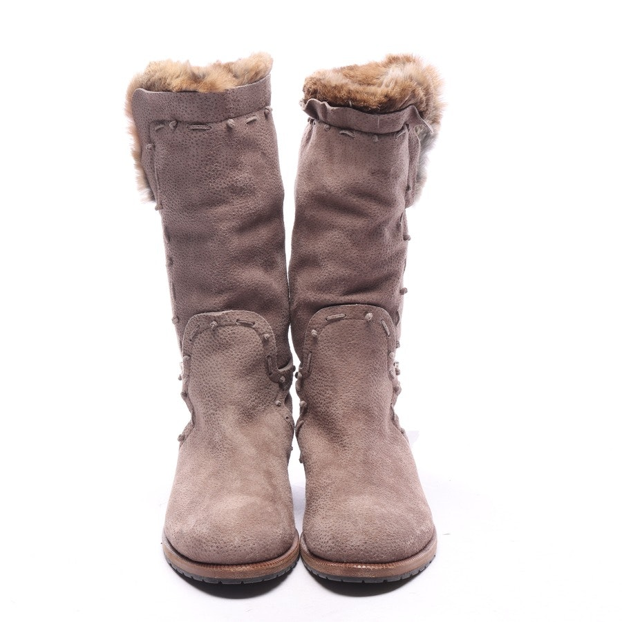 boots from Ermanno Scervino in beige brown size EUR 37,5