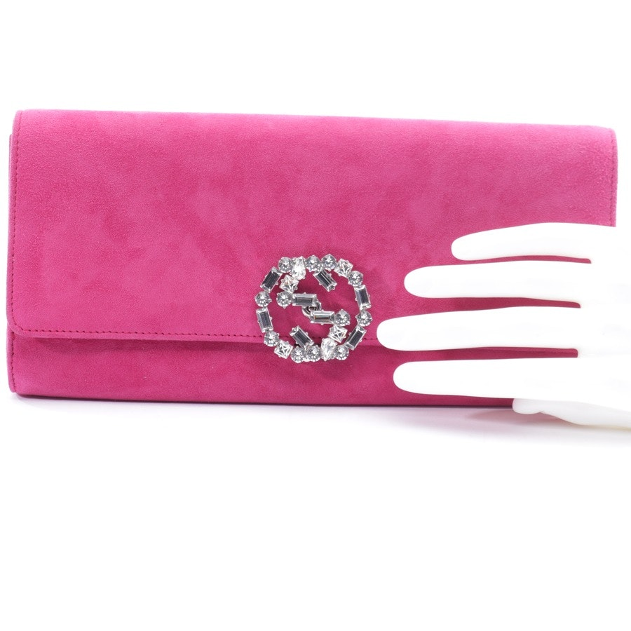 clutches from Gucci in pink