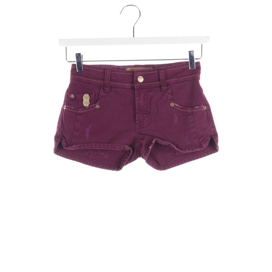 Shorts von John Galliano in Pflaume Gr. W26 - Neu