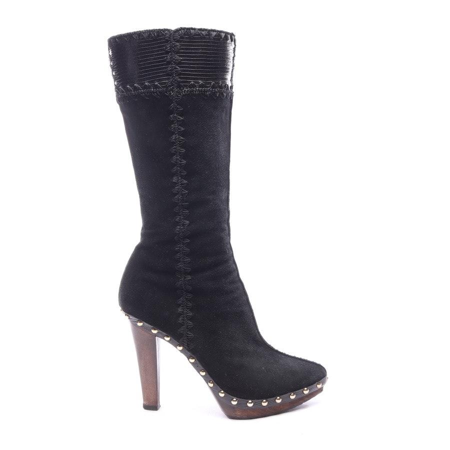 Stiefel von Sergio Rossi in Schwarz Gr. EUR 37,5