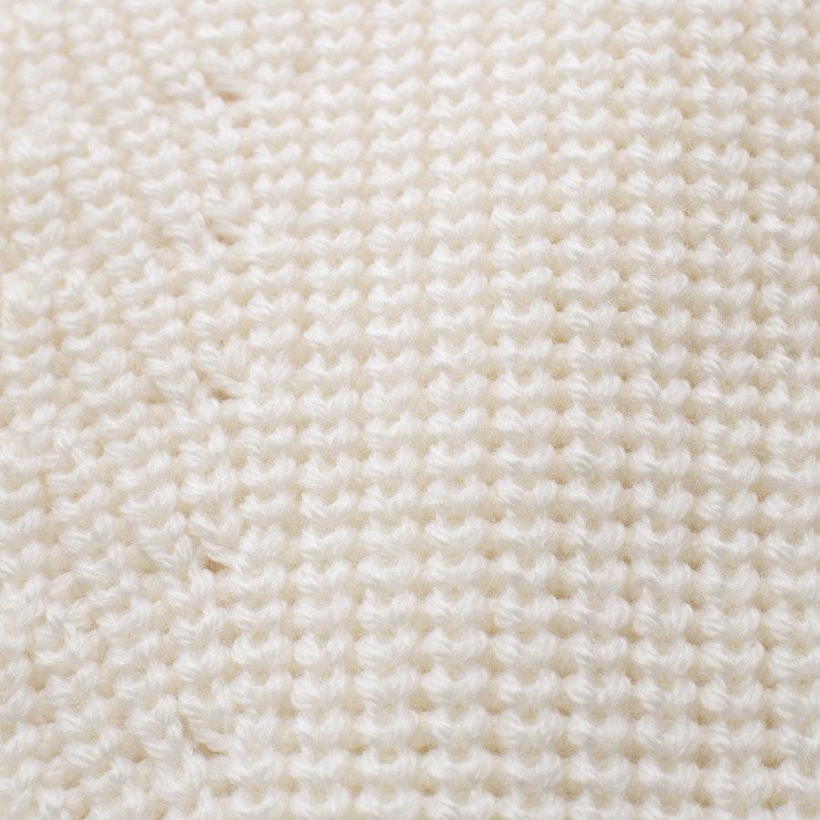 Wollstrickpullover von Chloé in Creme Gr. L