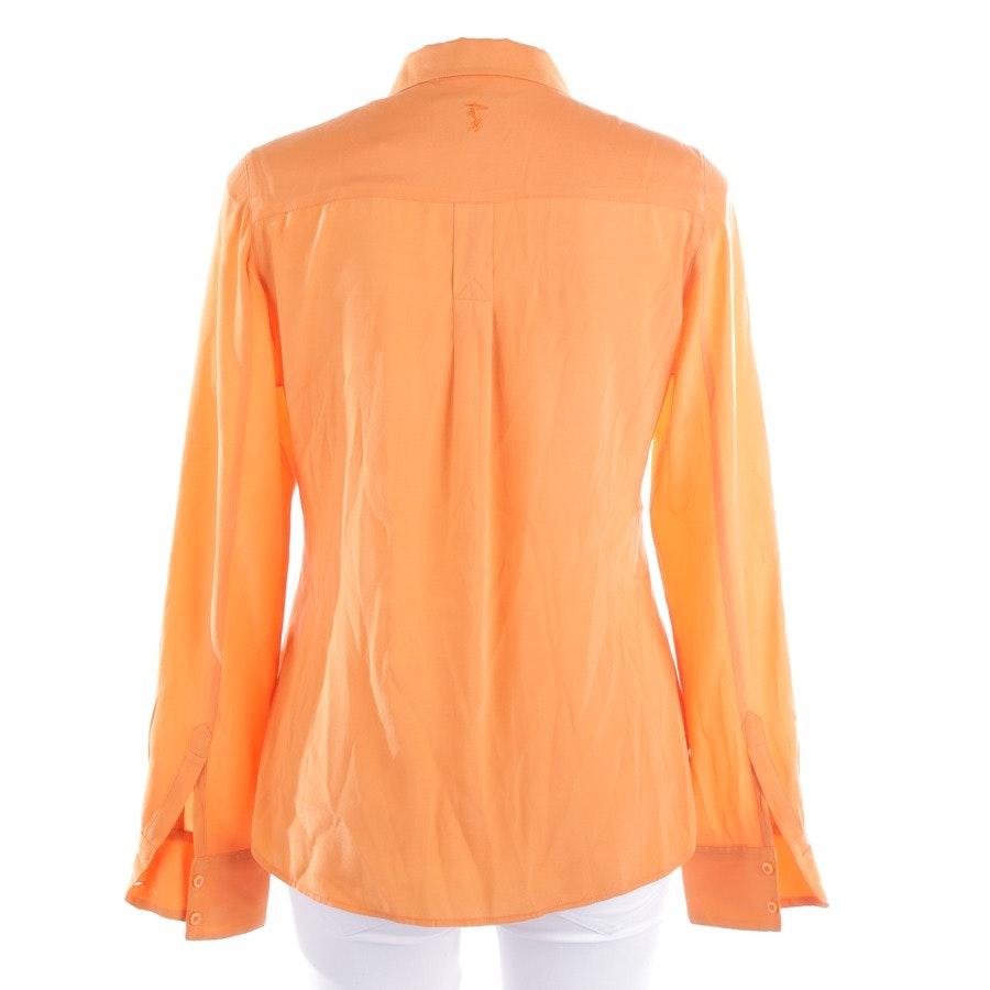 Bluse von Witty Knitters in Orange Gr. M