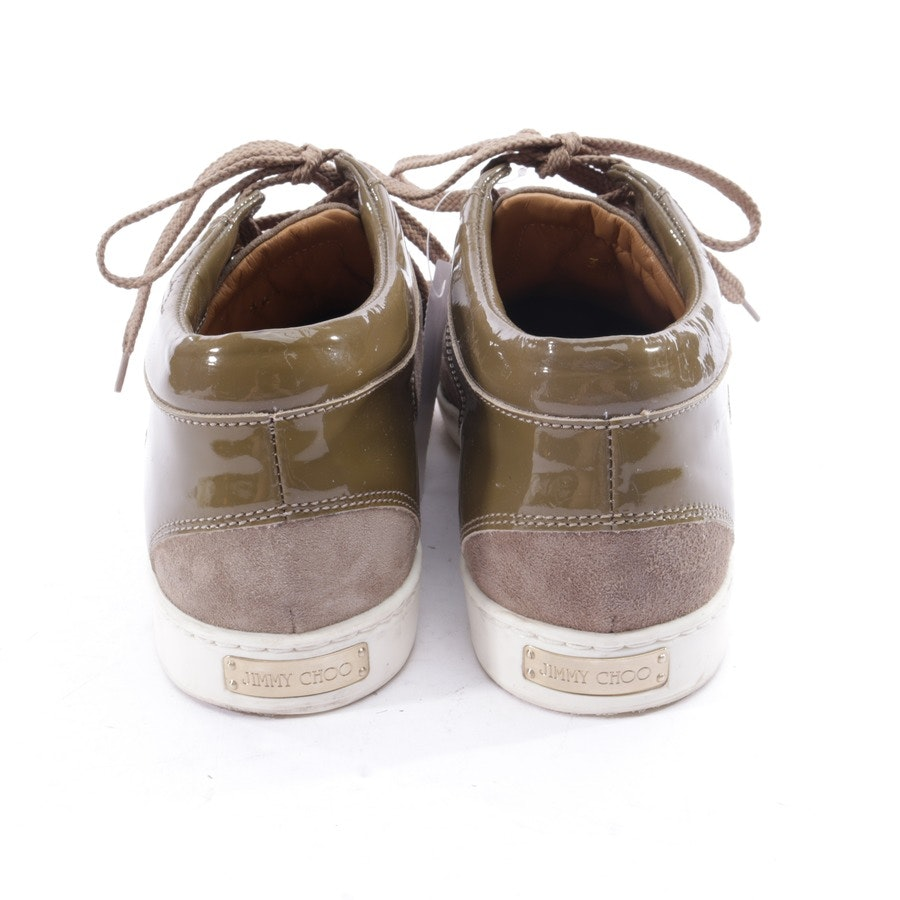 trainers from Jimmy Choo in khaki and brown size EUR 36,5