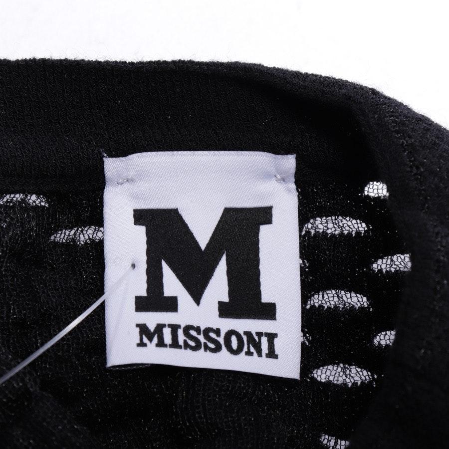 Strickkleid von Missoni M in Schwarz Gr. 34 IT 40