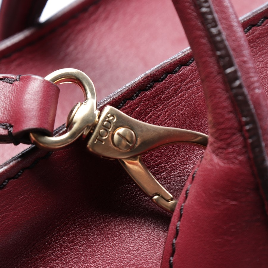 handbag from Tod´s in burgundy - d-styling bauletto