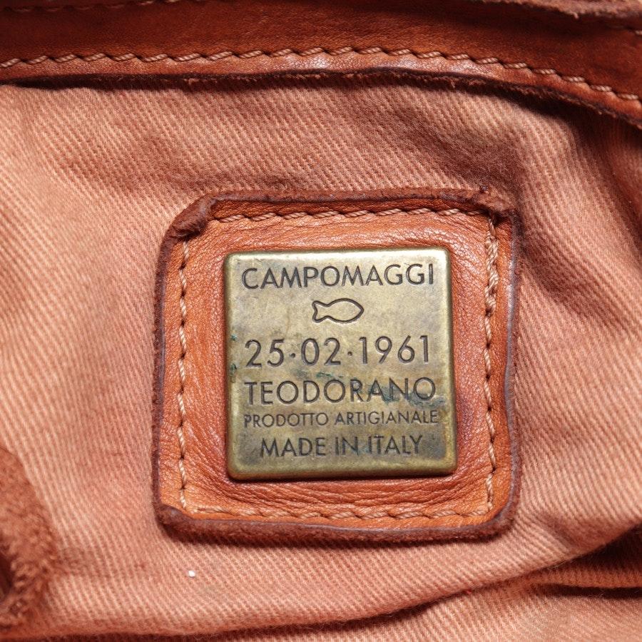 Handtasche von Campomaggi in Cognac