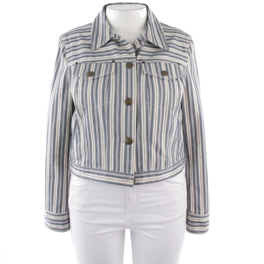 summer jackets from Philosophy di Lorenzo Serafini in blue and white size 40 IT 46