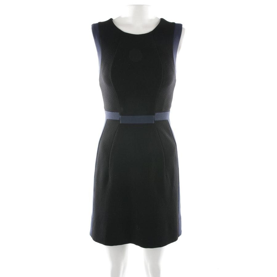 Kleid von Diane von Furstenberg in Schwarz und Blau Gr. 30 US 0