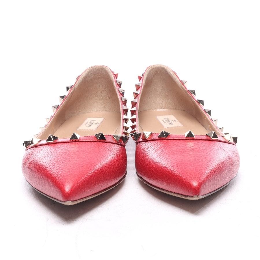 Ballerinas von Valentino in Rot Gr. EUR 42 - Rockstud