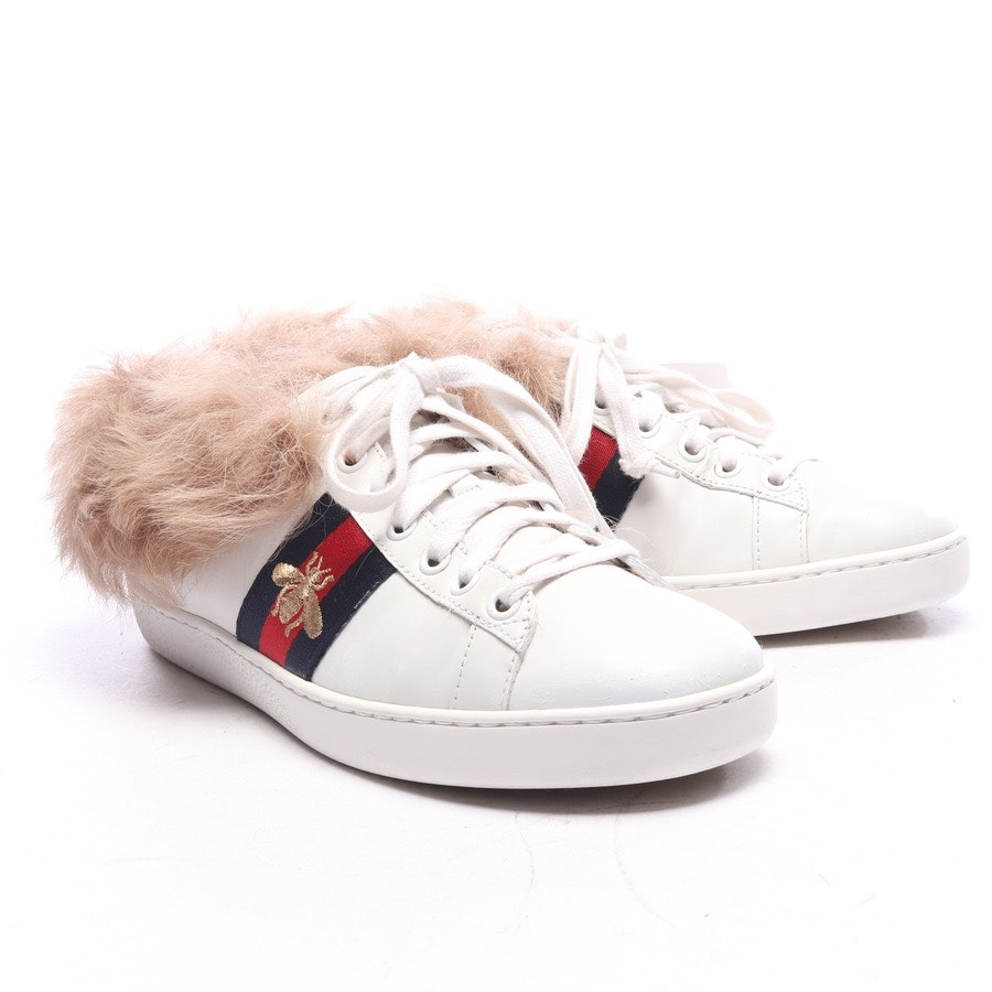 trainers from Gucci in white and red size EUR 36