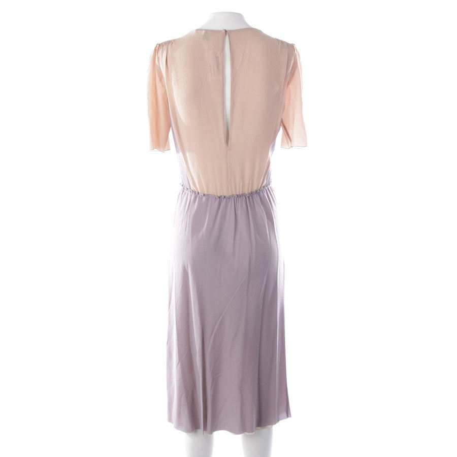 dress from Agnona in lilac and beige size 34 IT 40
